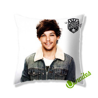 Louis Tomlinson 1D Square Pillow Cover