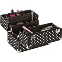 "Black/White Dots 10"" Case"