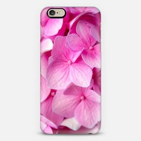 Pink Hydrangea iPhone 6 case by Noonday Design | Casetify