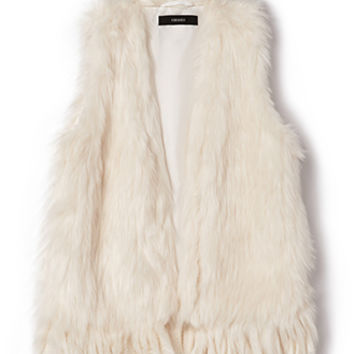 Rock On Faux Fur Vest