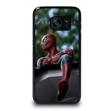 SPIDERMAN J. COLE FOREST HILLS Samsung Galaxy S7 Edge Case Cover