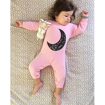 New 2017 baby girl rompers long sleeve baby girls clothes newborn clothing casual infant jumpsuit toddler outfit