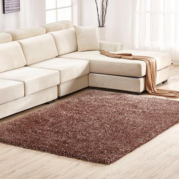Warm Super Soft Stretch Living Room Bedroom Stylish Carpet 120*170cm [118169960473]