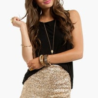 Diva Sequined Shorts $36