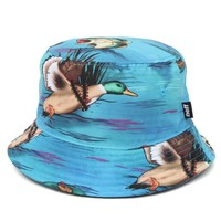 Neff Swamp Life Bucket Hat - Mens Backpack - Blue - One