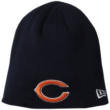 Chicago Bears Ribbed Knit Hat