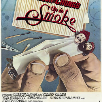 Cheech and Chong's Up in Smoke 11x17 Movie Poster (1978)