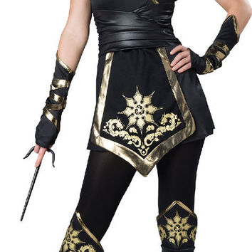 Female Ninja Elite - Adult Costume - Medium