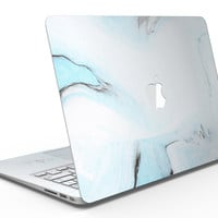 Mixtured Blue 99 Textured Marble - MacBook Air Skin Kit