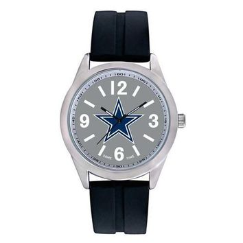 "Dallas Cowboys NFL Mens Varsity Series"" Quartz Analog Watch"""