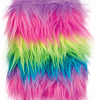 Neon Fluff Lined Journal Case Pack 12