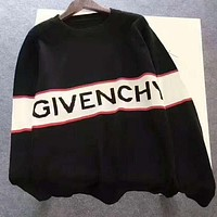 GIVENCHY Print women man warm long sleeve sweater Sweatshirt