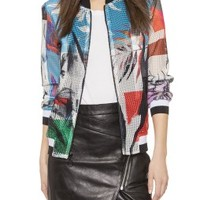 Abstract Garden Jacket