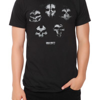 Call Of Duty: Ghosts Squad Skulls Slim-Fit T-Shirt