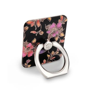 Midnight Floral Phone Ring