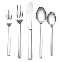 20-Pc Dublin Mirror Stainless Steel Set, Flatware Place Settings