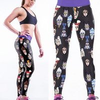 3D Disney Villian Yoga Leggings