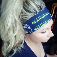 Seattle Seahawks Single Headband
