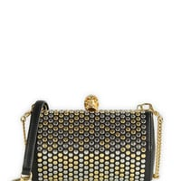 Alexander McQueen Small Studded Box Clutch
