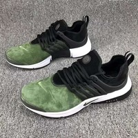 NIKE AIR PRESTO Men Fashion Running Sport Casual Shoes Sneakers Army green G-CSXY