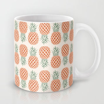 Pineapple  Mug by Basilique