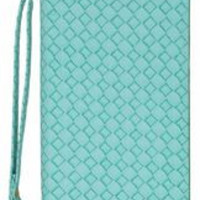 Ladies Wristlet Wallet Woven Design