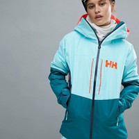 Helly Hansen Colourblock Hooded Jacket at asos.com