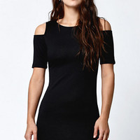 LA Hearts Cold Shoulder Bodycon Dress at PacSun.com