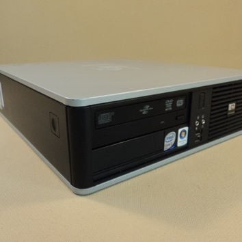 HP Compaq Desktop Computer 2.33GHz Duo Core Hard Drive 80GB Seagate DC5800 -- Used