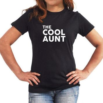 The Cool Aunt T-shirt - Auntie Tee