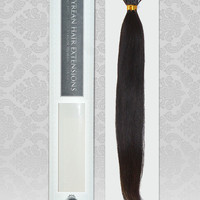 100% RAW Unprocessed Brazilian Natural StraightVirgin Remy Human Hair Extensions