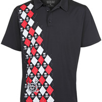 Monster Men's Golf Polo (Black)