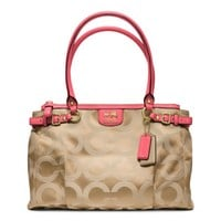 Coach :: Madison Op Art Sateen Kara Carryall