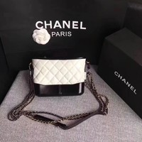 CHANEL GABRIELLE LEATHER SHOULDER BAG
