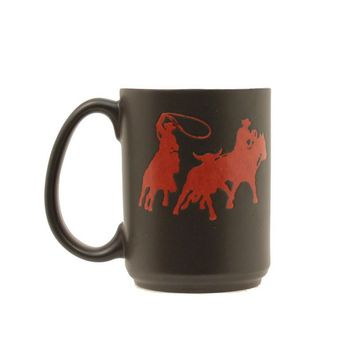 M&F Team Roper Black Coffee Cup