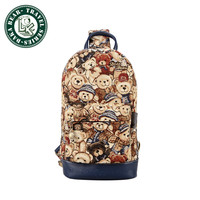Cool Outdoor Sports Casual Canvas Unbalance Backpack Crossbody Sling Bag Shoulder Bag Chest Bag for Women