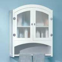 Elegant Bathroom Storage Cabinet