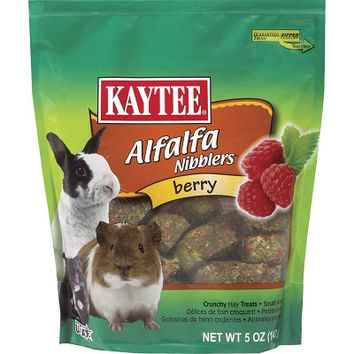 Kaytee Alfalfa Berry Nibblers for Small Pets 5 oz