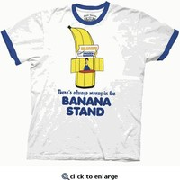 Arrested Development Money Banana Stand White T-shirt - Arrested Development - Free Shipping on orders over $60 | TV Store Online