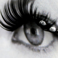 5 Swarovski Crystals False Eyelashes