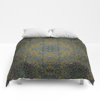 magic mandala 35 #mandala #magic #decor Comforters by jbjart