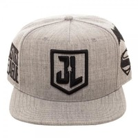 Justice League Embroidered Acryllic Wool Snapback