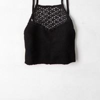 AEO Women's Smocked Crochet Cami