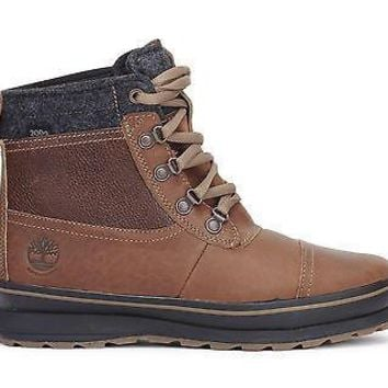 Timberland Mens Boots Schazzberg Mid waterproof Insulated Brown A11FI