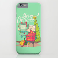 Adventure Christmas Time iPhone & iPod Case by Daniel Mackey