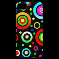 Colored Circles iPhone 5 Case | Zazzle.co.uk