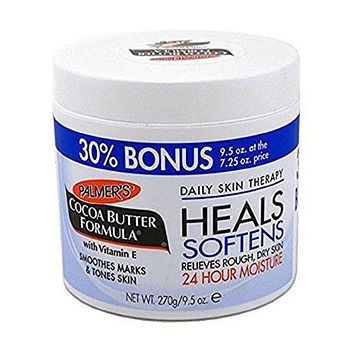 Palmers Cocoa Butter Jar with Vitamin E 9.5 Oz