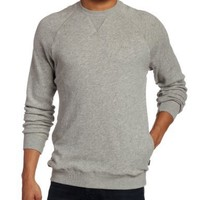 Brixton Men's Junction II Sweatshirt, Heather Grey, X-Large