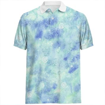 Blue lagoon Polo Shirt