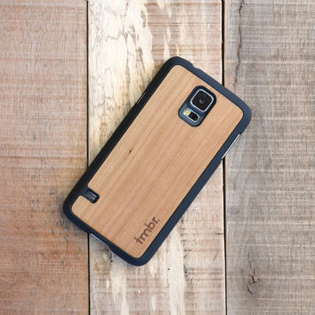 Galaxy S5 Wood Case,Cherry Wood Galaxy s5 Case - FFGC5